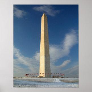 Monumento de Washington 11x14 Póster