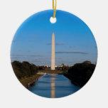 Monumento de Washington Adornos De Navidad