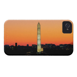 Monumento de Washington bajo restauración en la Funda Para iPhone 4 De Case-Mate