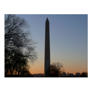Monumento de Washington en la fotografía del viaje Tarjetas Postales