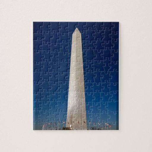 Monumento de Washington en la oscuridad Rompecabezas