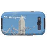 Monumento de Washington en primavera Galaxy SIII Protectores