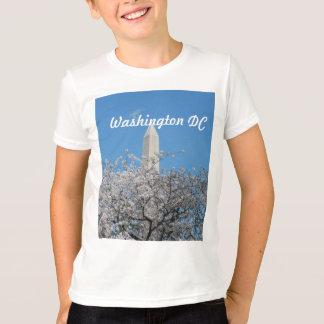 Monumento de Washington en primavera Playera