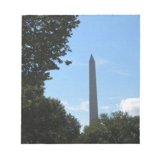 Monumento de Washington Libreta Para Notas