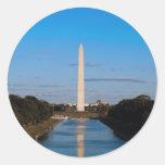 Monumento de Washington Pegatinas Redondas