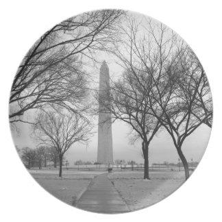 Monumento de Washington Platos Para Fiestas