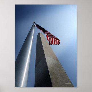 Monumento de Washington Póster