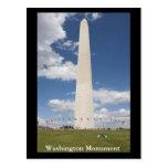 Monumento de Washington Tarjetas Postales