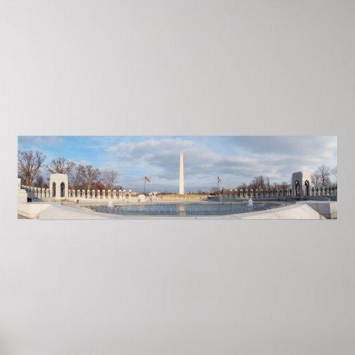 Monumento de WWII Póster