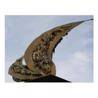 Monumento del aterrizaje del golfo de Leyte en Pal Tarjeta Postal