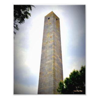 Monumento del Bunker Hill Arte Fotográfico