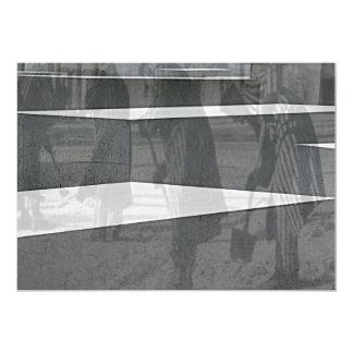 "Monumento del holocausto (Denkmal), Berlín Invitación 5"" X 7"""