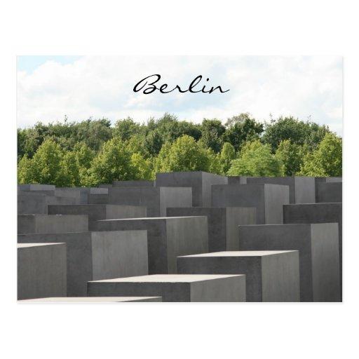 monumento del holocausto tarjeta postal