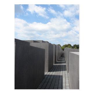 Monumento del holocausto postales