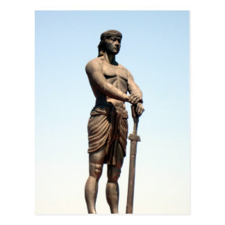 monumento del lapu del lapu postal