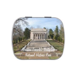 Monumento del lugar de nacimiento de Abraham Frascos De Caramelos