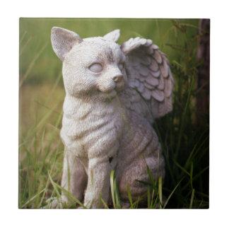 Monumento del mascota azulejo cuadrado pequeño