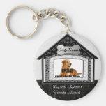 Monumento del mascota de la casa de perro llaveros personalizados
