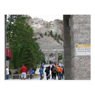 Monumento del monte Rushmore, Dakota del Sur, Postal