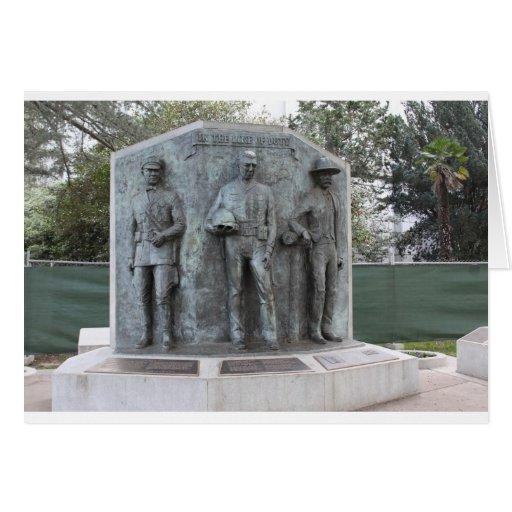 Monumento del oficial de paz de CA Tarjeton