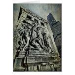 Monumento del pie Dearborn Felicitación