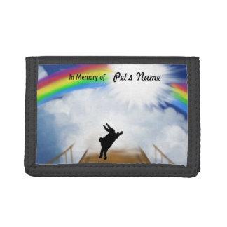 Monumento del puente del arco iris para los conejo