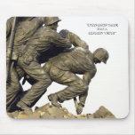Monumento del USMC Iwo Jima Alfombrillas De Raton