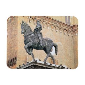 Monumento ecuestre de Bartolommeo Colleoni (1400- Imanes Flexibles
