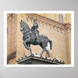 Monumento ecuestre de Bartolommeo Colleoni (1400- Poster