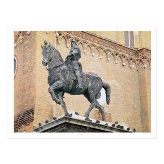 Monumento ecuestre de Bartolommeo Colleoni (1400- Postal
