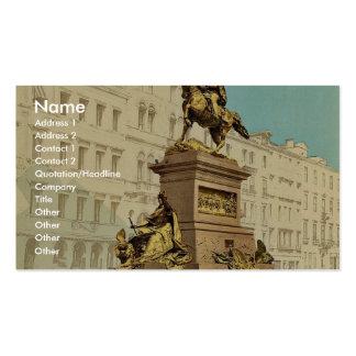 Monumento ecuestre, vencedor Manuel II, Venecia, I Tarjeta De Visita