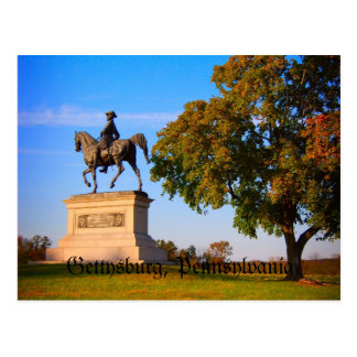 Monumento en el campo de batalla de Gettysburg Tarjetas Postales