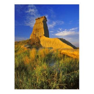 Monumento erosionado en el pequeño Missouri Tarjetas Postales