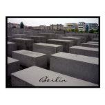 monumento Europa del holocausto Tarjeta Postal