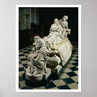 Monumento fúnebre a Armand-Jean du Plessis, Cardin Póster