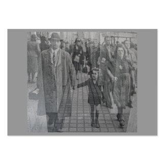Monumento judío del holocausto (Denkmal), Berlín ( Tarjeta De Negocio