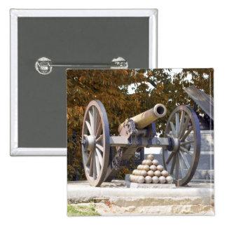 Monumento largo Gettysburg de la calle Pin Cuadrado