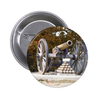 Monumento largo Gettysburg de la calle Pin Redondo De 2 Pulgadas