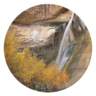 Monumento magnífico Utah de Escalante del becerro Plato De Comida