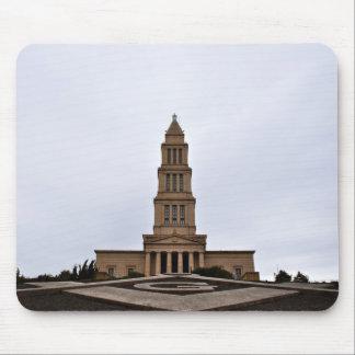 Monumento masónico de George Washington Tapete De Ratón