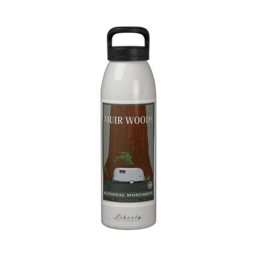 Monumento nacional 1 de maderas de Muir Botellas De Beber