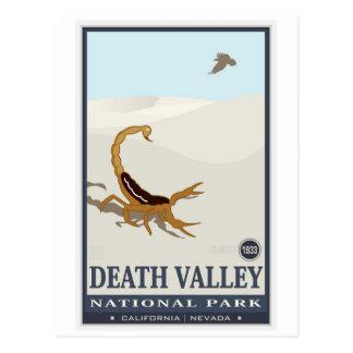 Monumento nacional 2 de Death Valley Postales