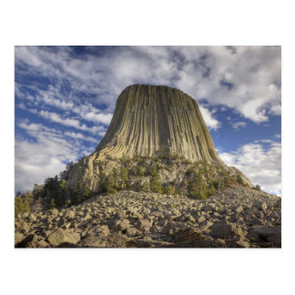 Monumento nacional 2 de la torre de los diablos postal