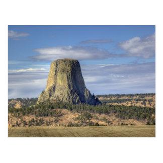 Monumento nacional 3 de la torre de los diablos postal