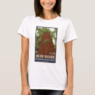 Monumento nacional 3 de maderas de Muir Playera
