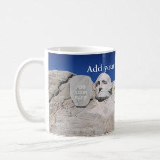 Monumento nacional adaptable del monte Rushmore… Taza De Café