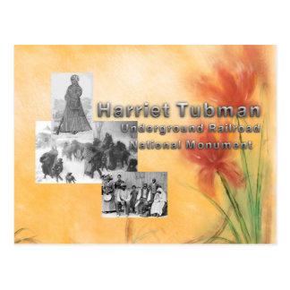 Monumento nacional de ABH Tubman Postales