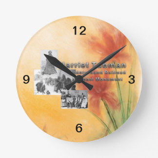 Monumento nacional de ABH Tubman Reloj Redondo Mediano