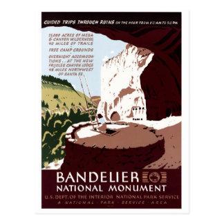 Monumento nacional de Bandelier Postales