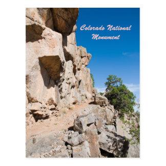 Monumento nacional de Colorado Tarjeta Postal